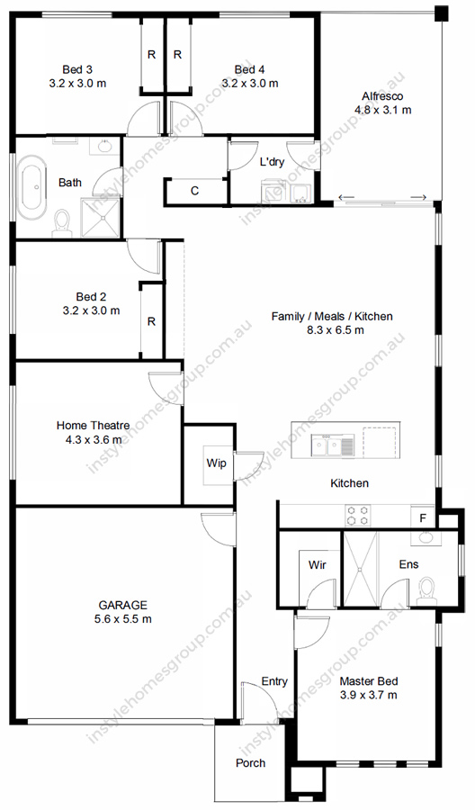 Heathcote Floorplan