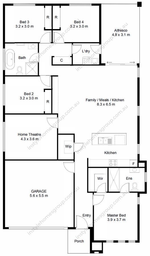 Heathcote Floorplan