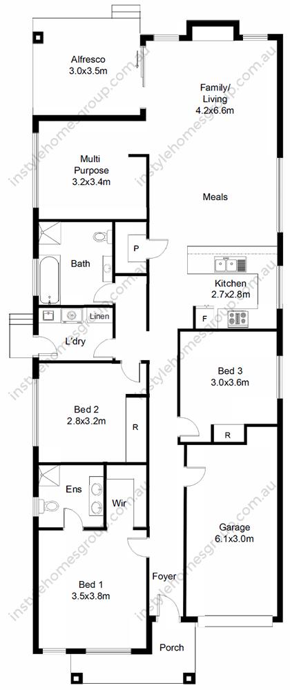 Kyneton Floorplan