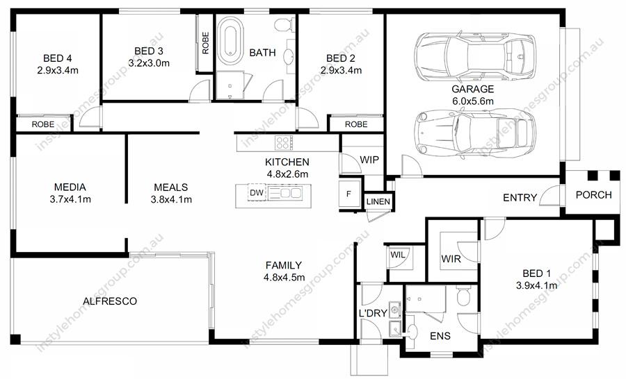 Lancfield Floorplan