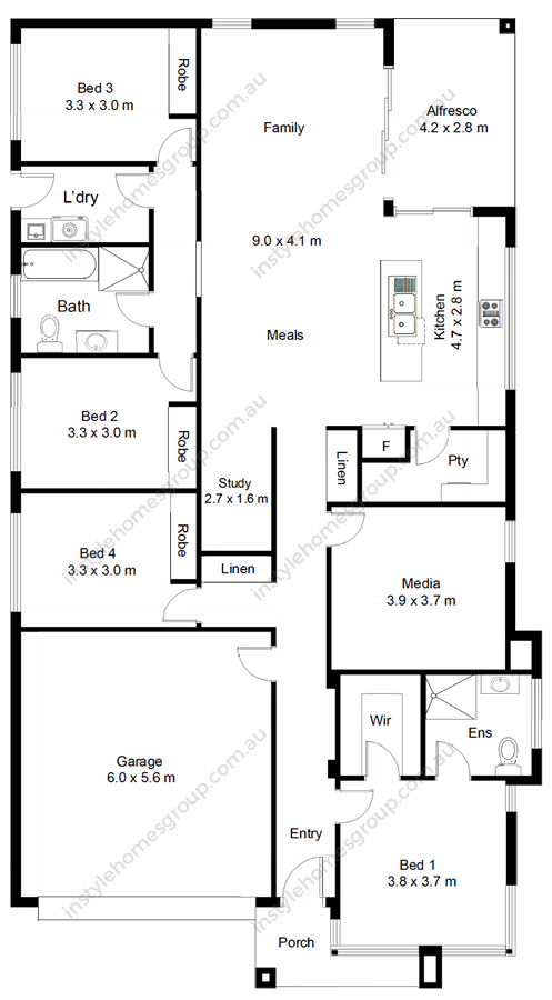 Lauriston Floorplan