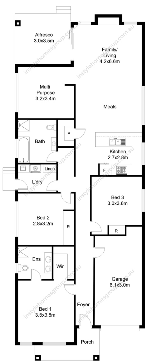 Newstead Floorplan