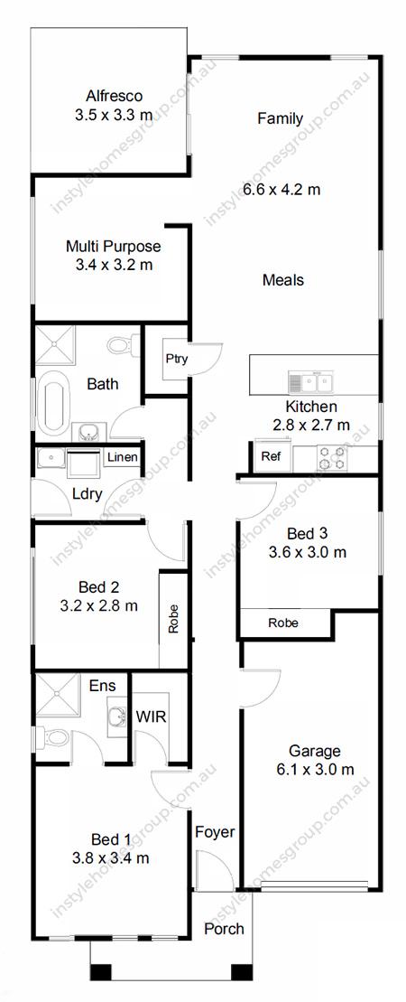 Trentham Floorplan
