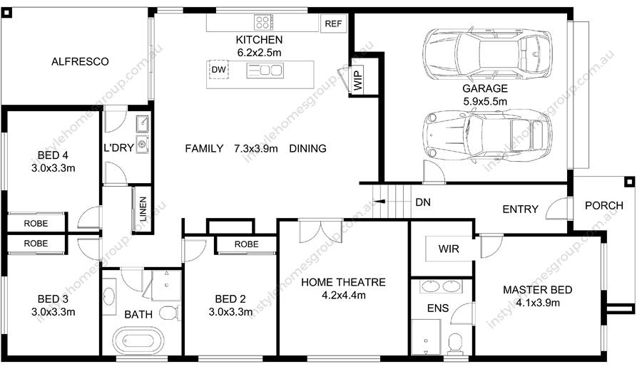 Tylden Floorplan