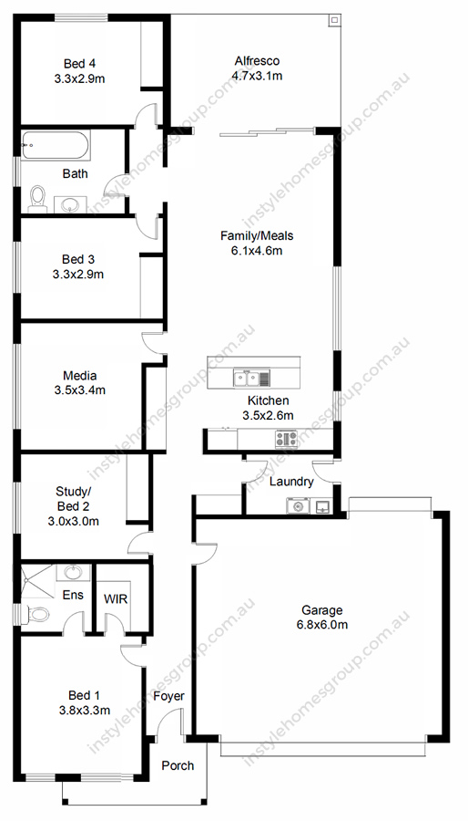 Woodend Floorplan