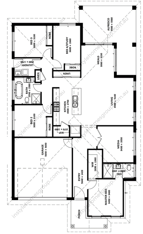 Hepburn Render Floor Plan