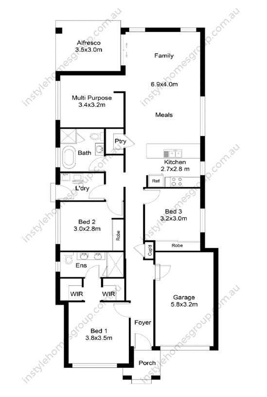 Kyneton Floor Plan